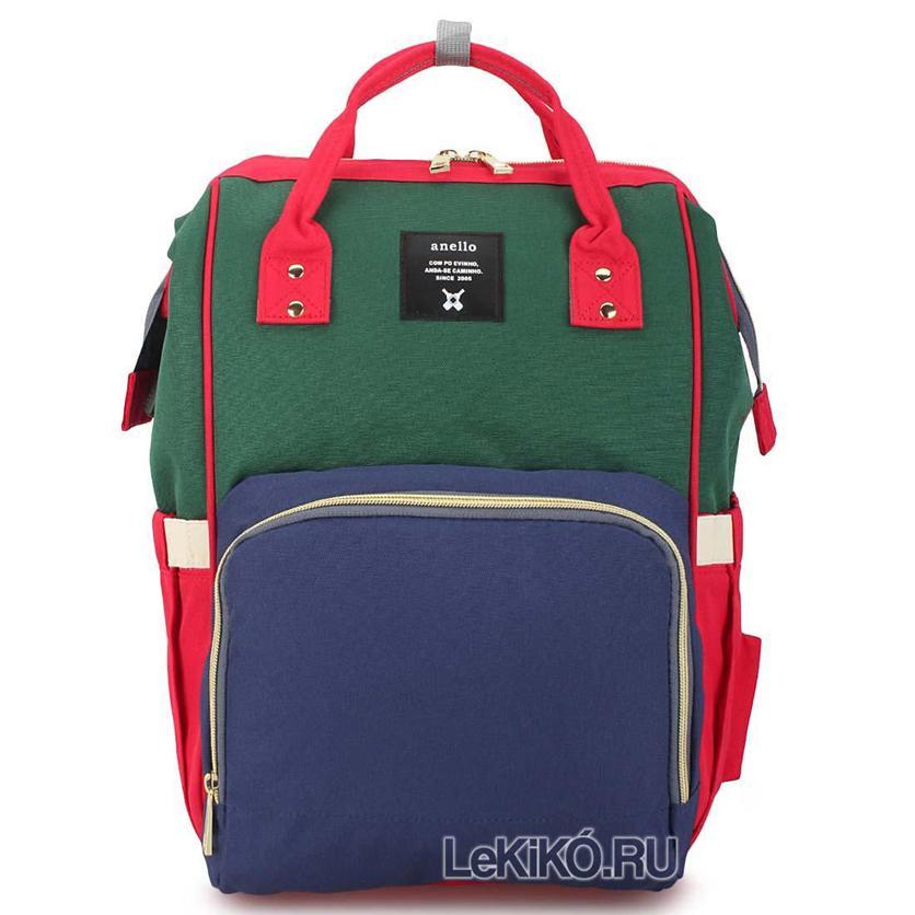 Сумка-рюкзак для школы Элина зеленый