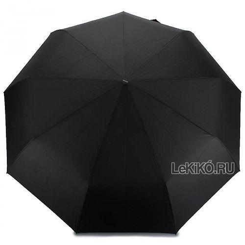 Мужской зонт автомат «Семейный» 132 Black - LeKiKO