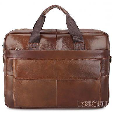 c235f54d040c Мужской портфель из натуральной кожи «Норт» M1261 Brown3699 р.
