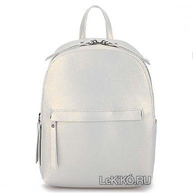 16c3b515a7d Женская сумка-рюкзак из натуральной кожи «Лени» 1083 Bead Ash3999 р.