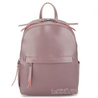6d8312ccd13a Женская сумка-рюкзак из натуральной кожи «Лени» 1083 Purple3999 р.