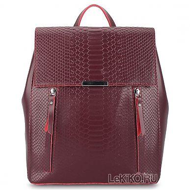 f4a867eccf23 Женский рюкзак из натуральной кожи «Лекси» 1062 Bordeaux3999 р.